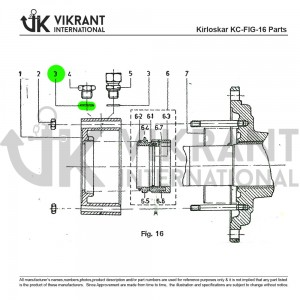 Aluminium Packing 9991853750 Replacement