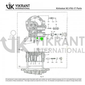 Aluminium Packing 9991852050 Replacement
