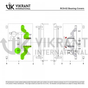 BEARING COVER 2114921 Replacement