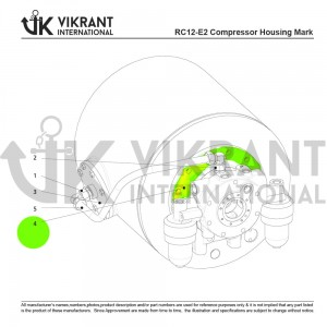 BEARING COVER 2138824 Replacement