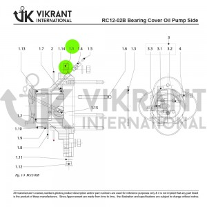 BEARING COVER 2138825 Replacement